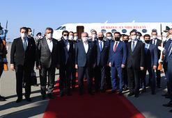 TBMM Başkanı Şentop, beraberindeki milletvekilleriyle Azerbaycana gitti