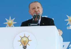 Cumhurbaşkanı Erdoğan Şırnakta konuşuyor