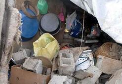 Beton mikseri dehşet saçtı Çarptığı evin mutfak duvarı yıkıldı