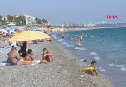 Antalyada ekim güneşi
