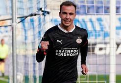 Götze, PSVde ilk golünü attı