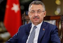 Cumhurbaşkanı Yardımcısı Oktay, Ersin Tatar ile görüştü