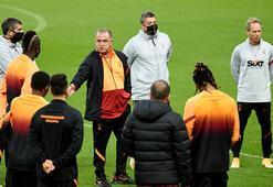 Son dakika - Galatasarayda Fatih Terim, Falcao ve Diagne ile özel görüştü