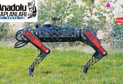 Robot işi tamam şimdi sıra uzayda