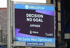 İngiltere'de Everton - Liverpool maçında 'VAR' krizi