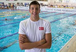 Milli yüzücü Emre Sakçı, Budapeştede birinci oldu