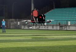 Türk mühendisler yaptı; Uçan araba Tusinin test sürüşlerine başlandı