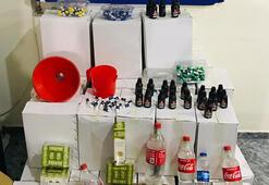Bodrum'da sahte içki operasyonu: 4 gözaltı