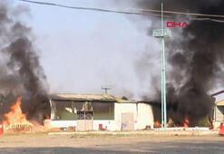 Ermenistan ordusu Terterdeki pamuk fabrikasına saldırdı