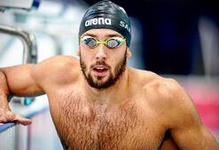 Milli yüzücü Emre Sakçı üçüncü oldu