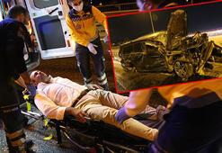Son dakika - Çaykur Rizespor eski yöneticisi Aykut Ferah, TEMdeki kazada ölümden döndü