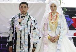 Son dakika... Aşiret düğününde takı yarışı 40 dakikada 1 milyon lira