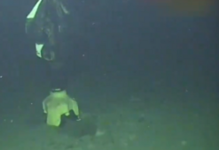 Tuna-1 kuyusundan görüntüler paylaşıldı