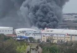 Son dakika... Silivrideki fabrika yangını 2 saatte söndürüldü