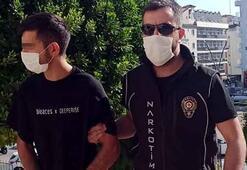 Marmaris'te uyuşturucu satışı yapan garsona gözaltına alındı