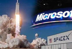 Microsoft ve SpaceX uzaycılık müşterilerine bulut hizmeti verecek