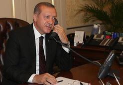 Cumhurbaşkanı Erdoğandan Mustafa Desticiye tebrik telefonu