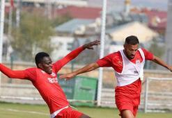 Sivassporda Villarreal hazırlıkları Şut çalıştılar