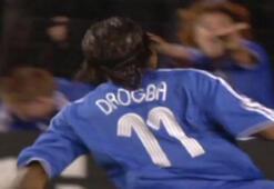 Geçmişe yolculuk | Drogbanın Barcelonaya attığı harika gol