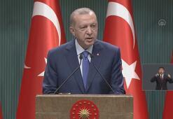 Cumhurbaşkanı Erdoğandan yüz yüze eğitim açıklaması