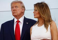 Melania Trump, eşinin seçim mitingine katılamayacak