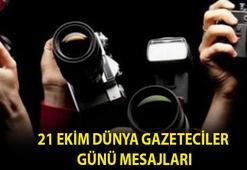 Dünya Gazeteciler Günü mesajları 2020 En güzel ve anlamlı 21 Ekim Dünya Gazeteciler Günü kutlama mesajları...