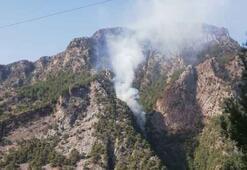 Kahramanmaraşta 1 hektar ormanlık alan yandı