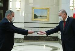İspanya Büyükelçisi Garnicadan Erdoğana güven mektubu