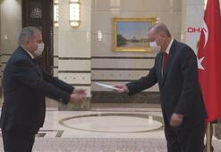 İspanyanın Ankara Büyükelçisi Garnica, Cumhurbaşkanı Erdoğana güven mektubu sundu