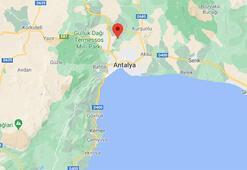 Son dakika | Antalyada korkutan deprem Depremin büyüklüğü...