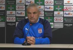 """Rıza Çalımbay: """"Amacımız Villarreal maçından puan ya da puanlar almak"""""""