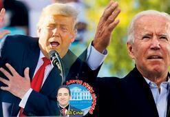 Başkan Trump sahada, Biden kayıp