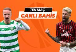 Celtic - Milan maçı Tek Maç ve Canlı Bahis seçenekleriyle Misli.com'da