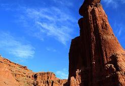 Kırmızı periler diyarında yılda 500 bin turist hedefi