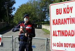 23 kişi koronavirüse yakalandı Köy, karantinaya alındı