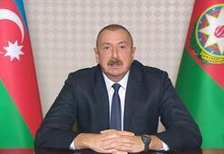 Aliyev: Ermenistanın Genceye saldırıları savaş suçudur