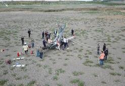 İstanbulda uçak kazası... Eğitim uçağı düştü