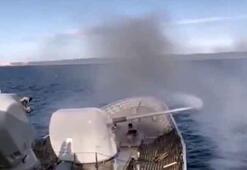 MSB duyurdu Saros Körfezinde silah eğitimleri icra edildi