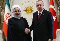 Son dakika... Cumhurbaşkanı Erdoğan İle Ruhaniden kritik görüşme