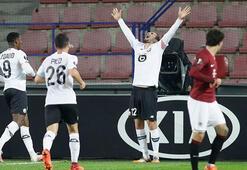 Lillede Yusuf Yazıcıdan 3 gol birden