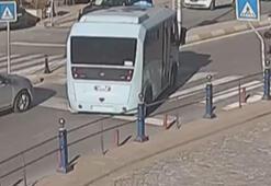 Minibüs şoförü yaşlı çift için yolu böyle kesti
