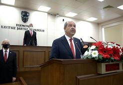 KKTCde Cumhurbaşkanı Tatar resmen göreve başladı