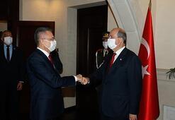 KKTC Cumhurbaşkanı Tatarın ilk konuğu Cumhurbaşkanı Yardımcısı Oktay oldu