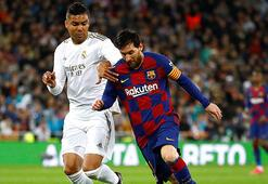 El Clasico tarihinde bir ilk Barcelona ve Real Madrid...
