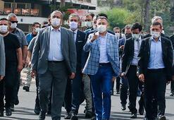 Cumhurbaşkanı Yardımcısı Oktay, Kapalı Maraşı ziyaret etti