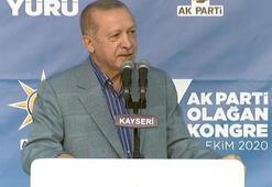 Cumhurbaşkanı Erdoğandan Kayseride önemli açıklamalar