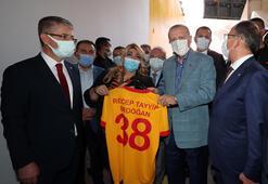 Cumhurbaşkanı Erdoğan Kayseride