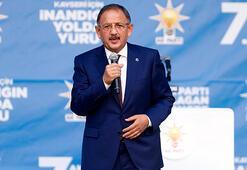 Mehmet Özhaseki: Türkiye sevindiğinde onlar sevinmiyor