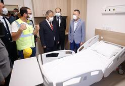 Cumhurbaşkanı Yardımcısı Oktaydan KKTC Acil Durum Hastanesine  ziyaret