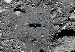 NASA'nın robot kolu Bennu'dan yüklü miktarda numune almayı başardı